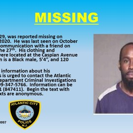 Photo of Missing Man- Isiah Ruffin