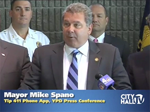 Yonkers PD Launch tip411 mobile