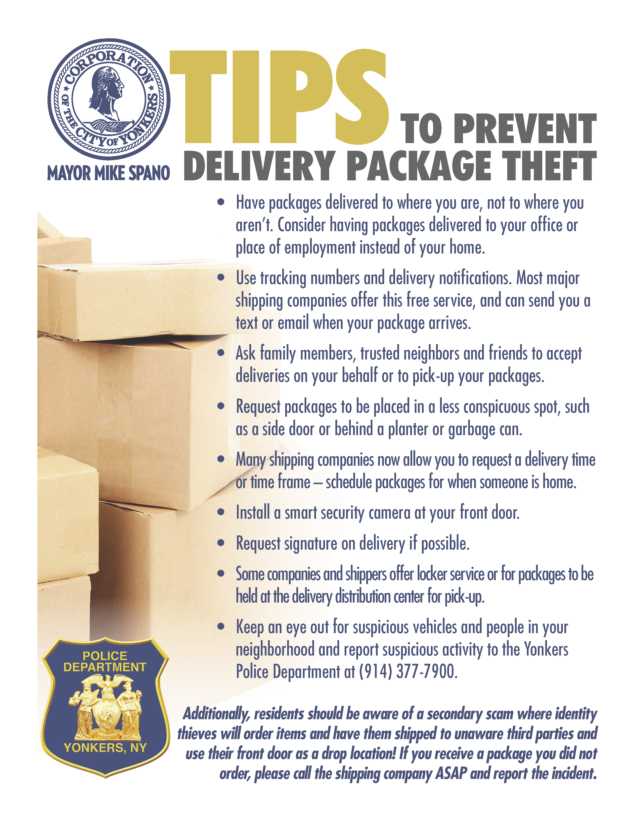 Porch pirates: Tips for preventing package theft