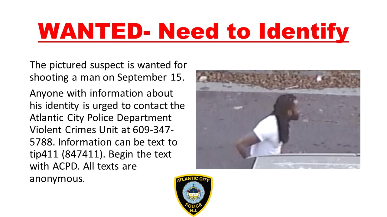 Need Public's Help in Identifying a Suspect in a Shooting For